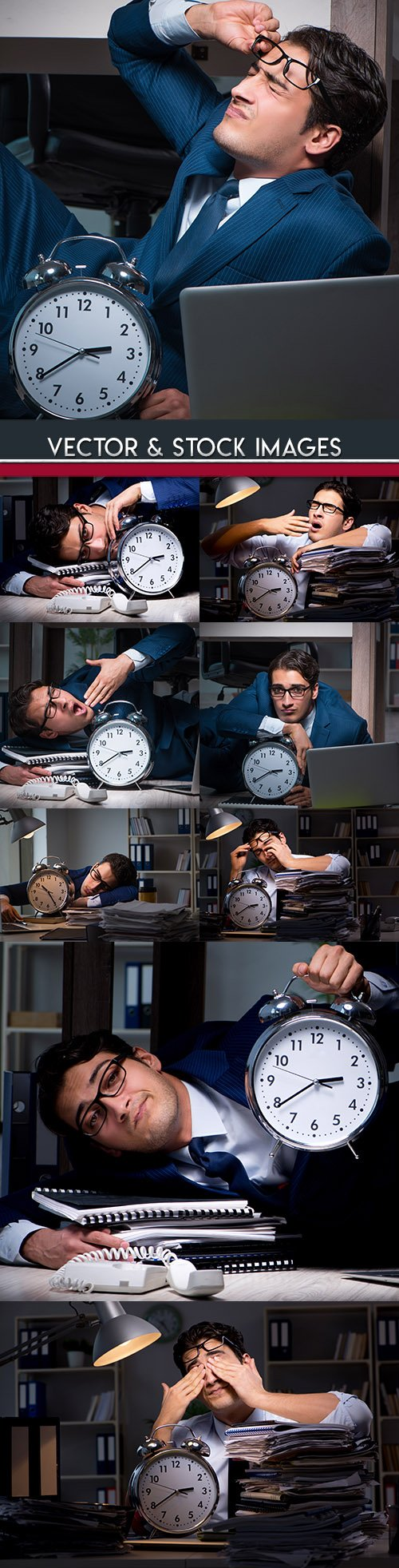 Accountant behind the report until late at night