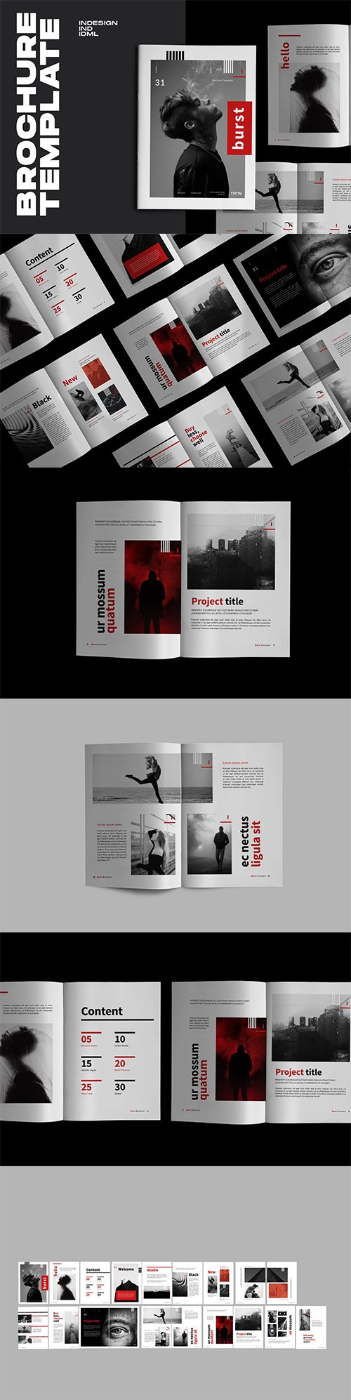 Burst - Urban Design Indesign Brochure