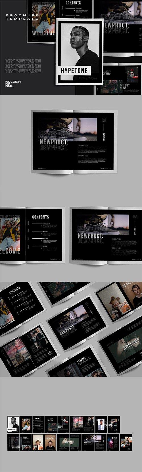Hypetone - Creative Urban Indesign Brochure
