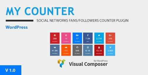 CodeCanyon - MY-Counter v1.0.0 - Visual Composer Addon & WordPress Widget - 20787608