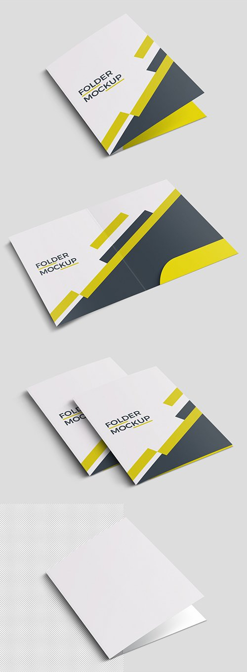 Three Folder Mockups 246505773 PSDT
