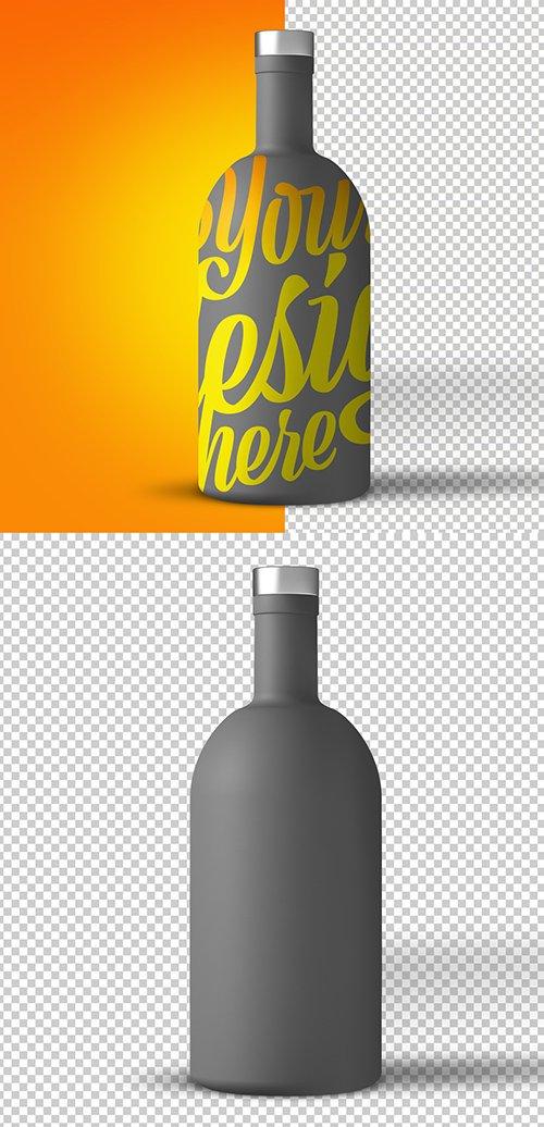 Large Beverage Bottle Mockup 246690380 PSDT
