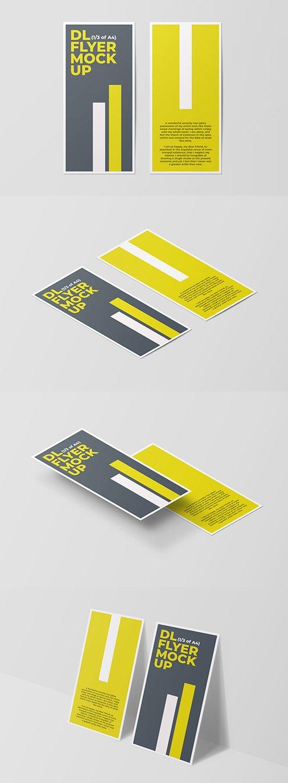 Four DL Flyer Mockups 246505760 PSDT
