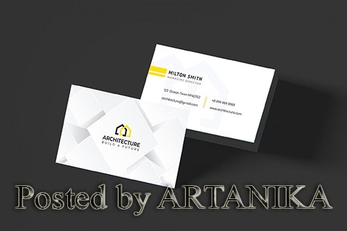 Architecture Business Card Template