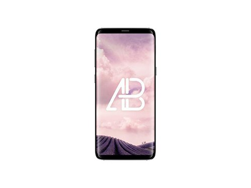 Samsung Galaxy S8 Plus Front View PSD Mockup