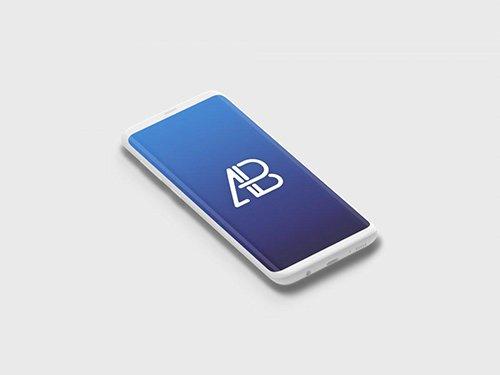 Clay Samsung Galaxy S8 Plus Mockup