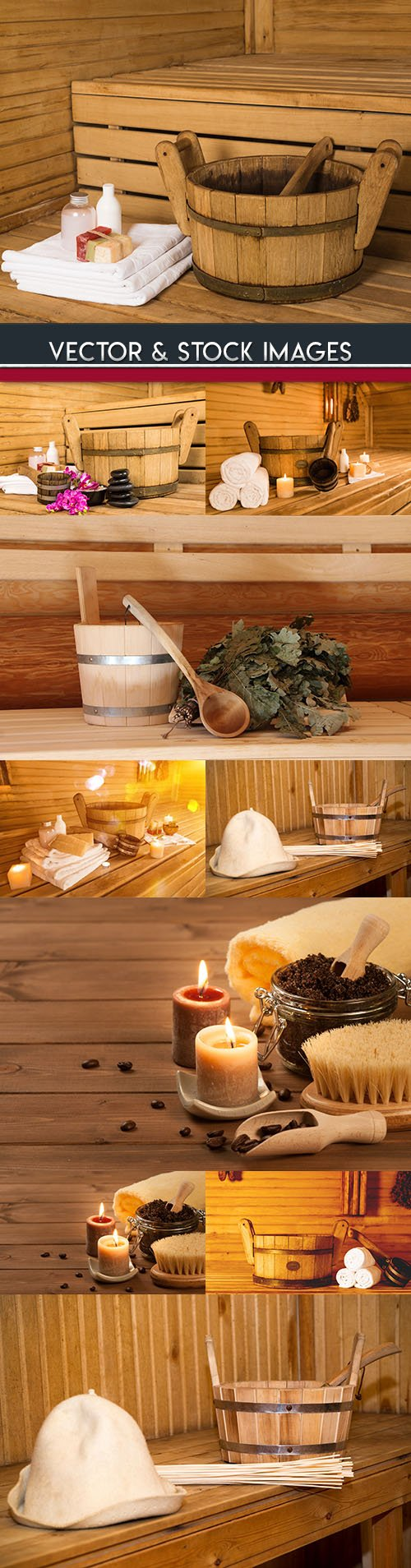 Sauna and Spa procedures for health and beauty