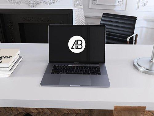 Space Gray MacBook Pro Mockup Vol.6