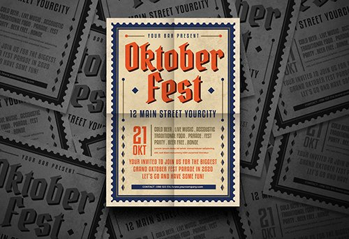 Oktober Fest Flyer PSD