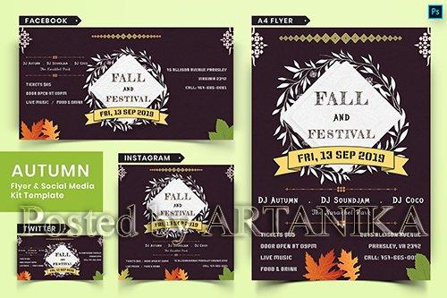 Autumn Festival Flyer & Social Media Pack-03