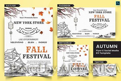 Autumn Festival Flyer & Social Media Pack-05