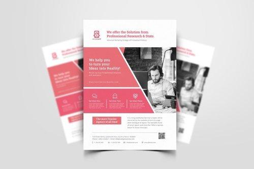 Creative Business Flyer PSD