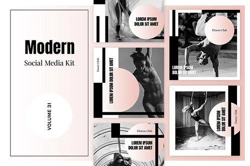 Modern Social Media Kit (Vol. 31)