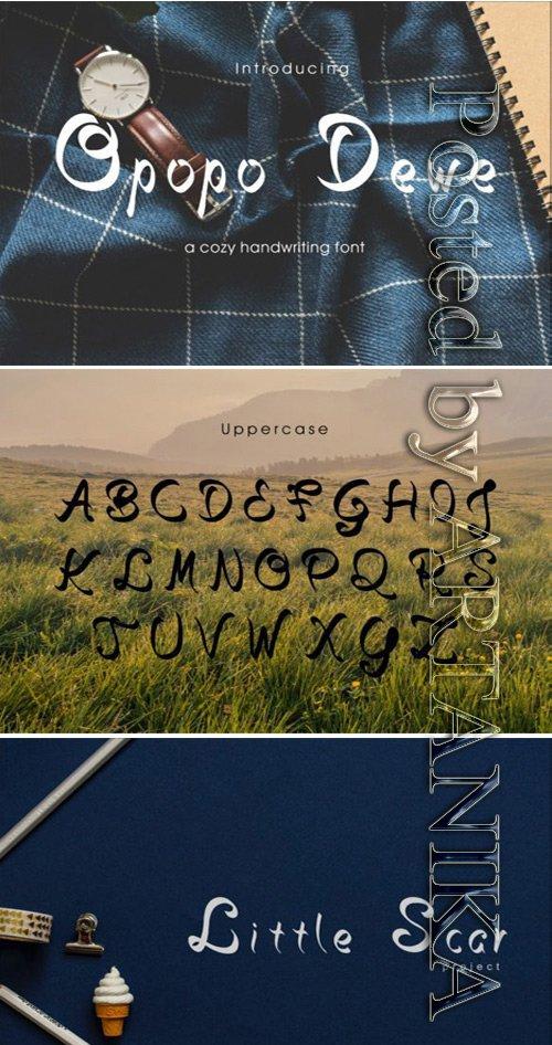 Opopo Dewe Font