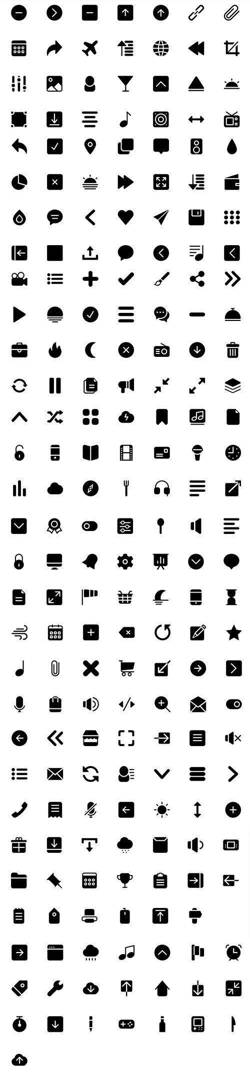BigMug Solid Icon Pack