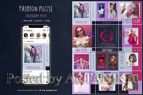 Fashion Instagram Puzzle