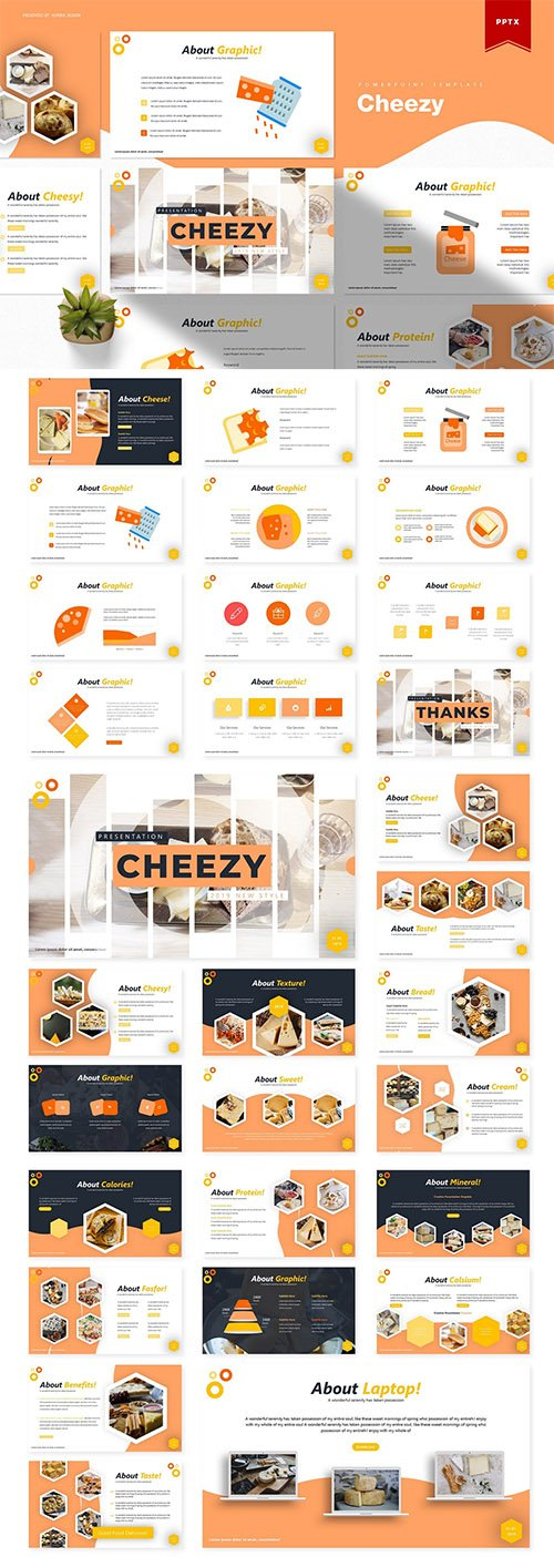 Cheezy | Powerpoint Template