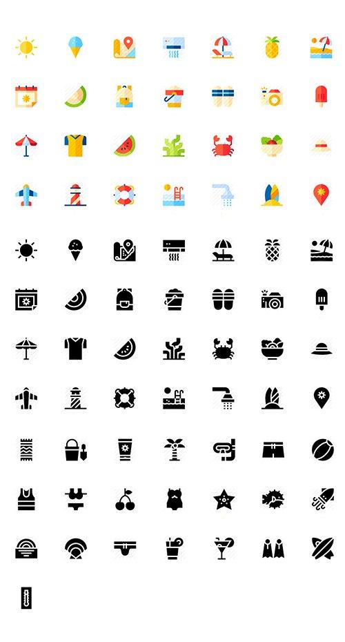 150 Summer Icon