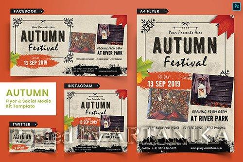 Autumn Festival Flyer & Social Media Pack-04