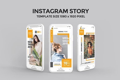 Instagram Story Template 4