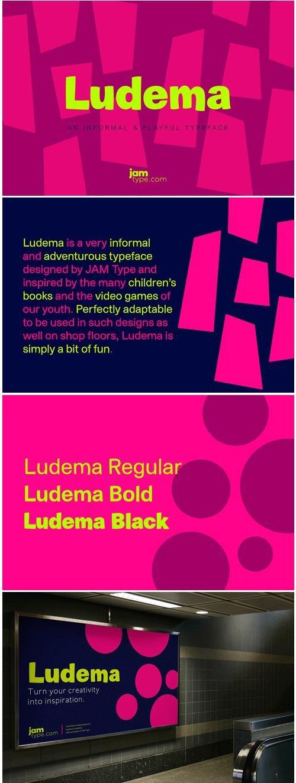 Ludema Font
