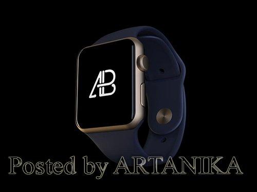Realistic Apple Watch Series 2 Mockup