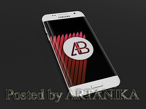Samsung Galaxy S7 Mockup