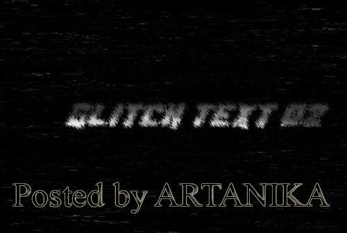 Glitch Text V2 241933