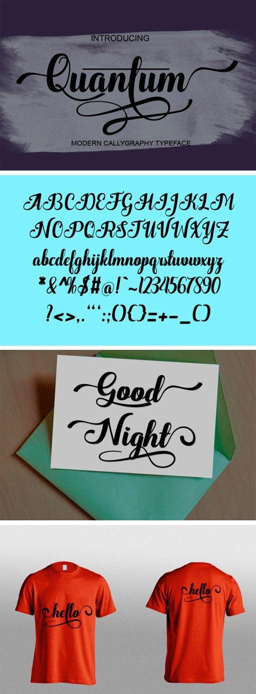 Quantum Font