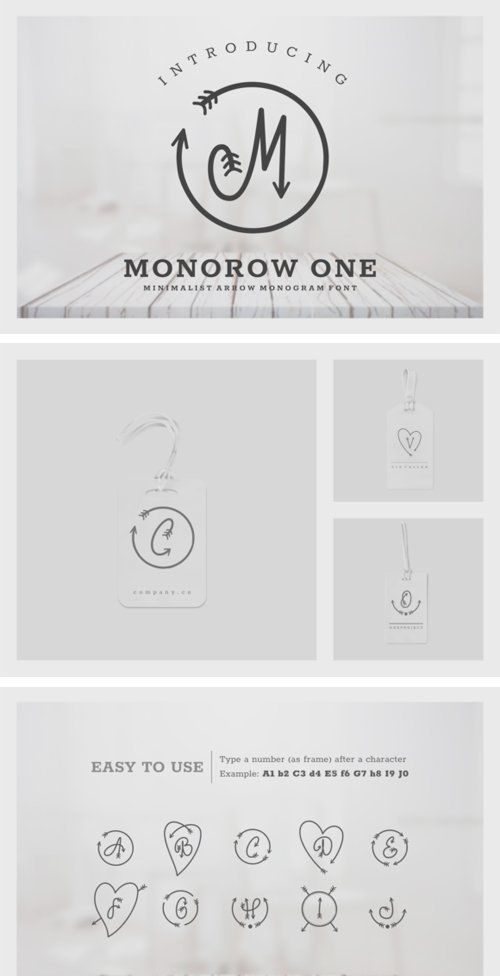 Monorow Font Family