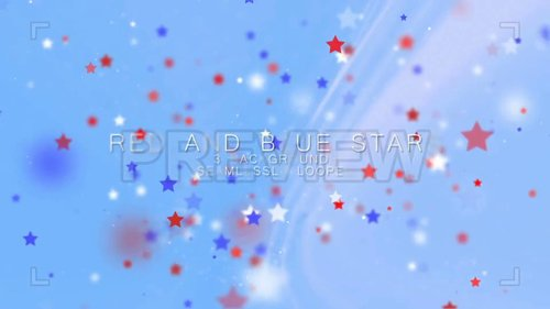 MA - Red And Blue Stars 247601