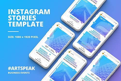 Business Instagram Story Template