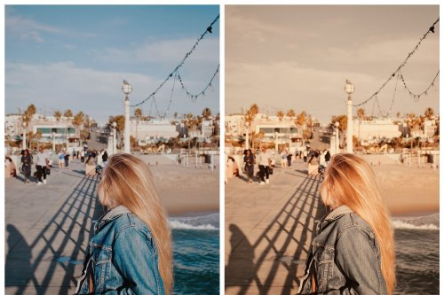 CreativeMarket - Gold Lightroom Presets Mobile 3989922
