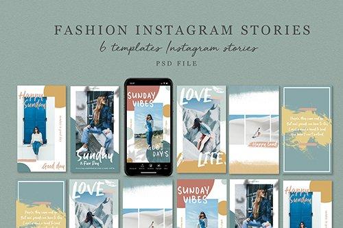 Fashion Instagram Stories V.02