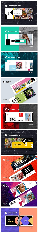 Facebook Cover Set Vol2