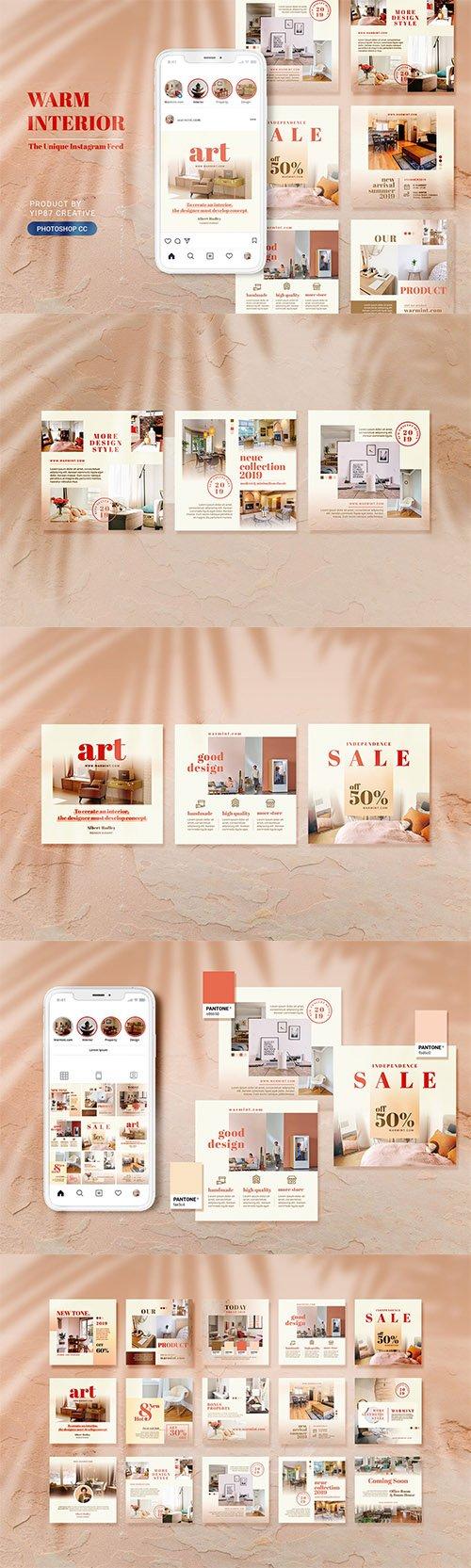 Furniture and Interior Design Social Media Post
