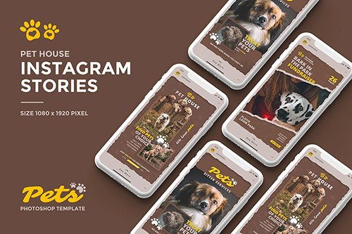Pets Instagram Story Template