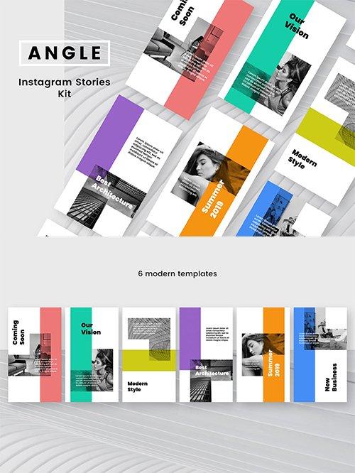Angle Instagram Stories Kit