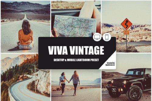 CreativeMarket - Viva Vintage Lightroom Preset 3977625