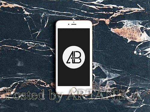 Realistic iPhone 6s Mockup
