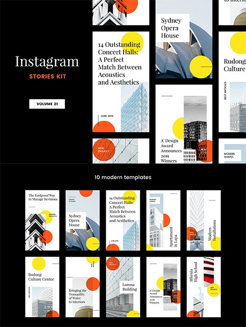 Instagram Stories Kit (Vol.21)