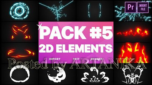 VH - Elements Pack 05 | Premiere Pro MOGRT 24368328