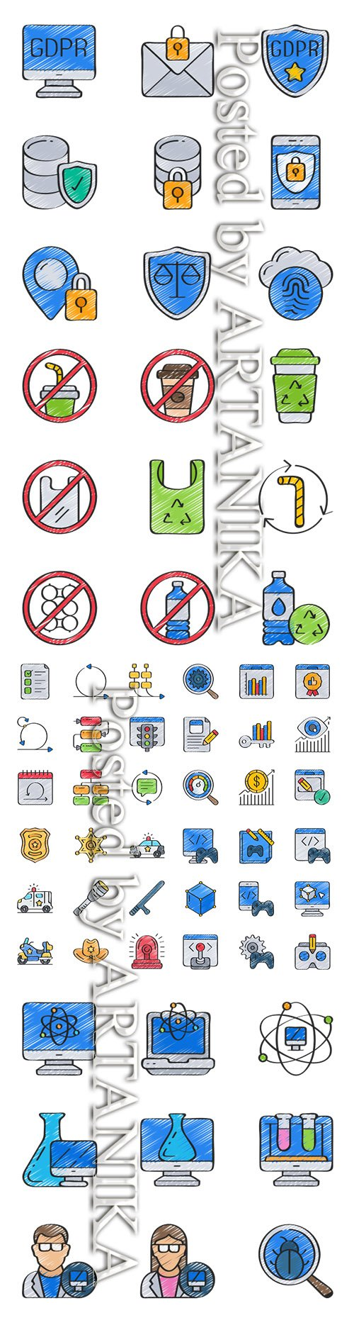 Mix Vector Icons Pack Vol.3