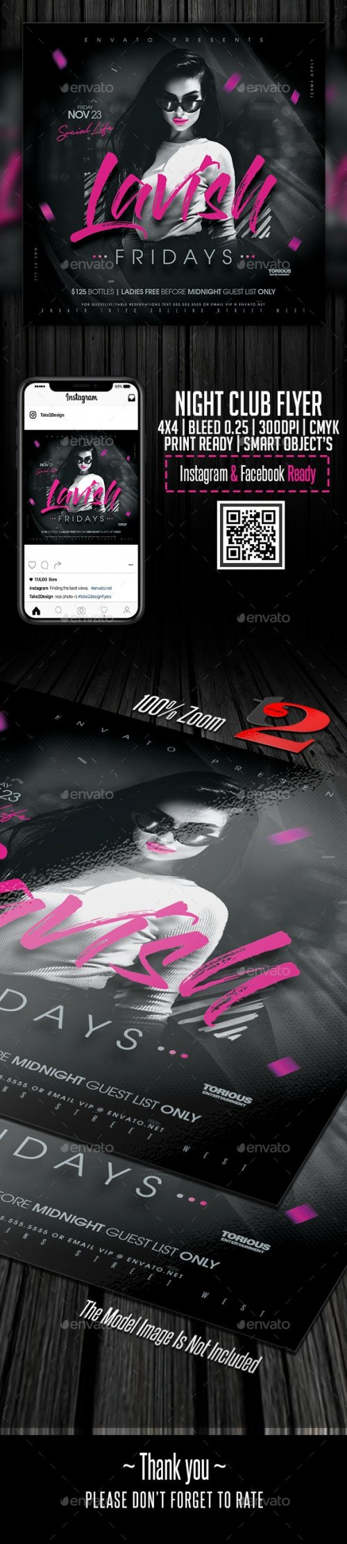 GraphicRiver - Night Club Flyer Template 24274527