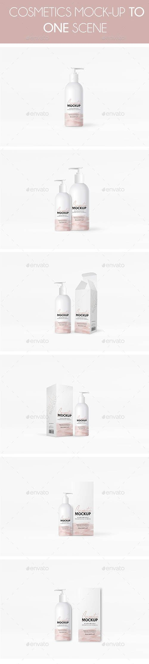 GraphicRiver - Cosmetics Mockup 24268324