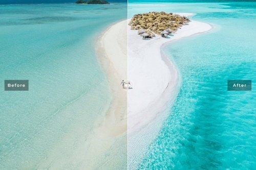 CreativeMarket - Ocean Blue Lightroom Presets Pack 4026118