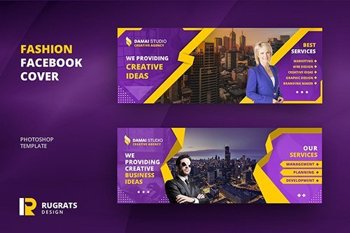 Business Facebook Cover PSD Template