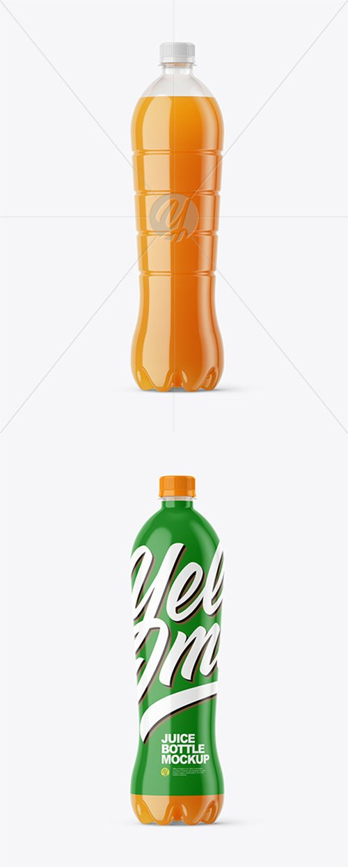 1,5L Carrot Juice Bottle Mockup 45434 TIF