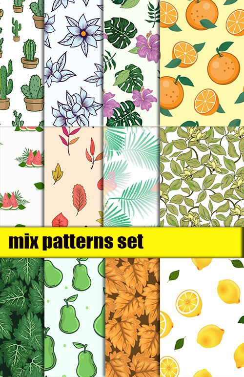 Mix Patterns Vector Set vol2
