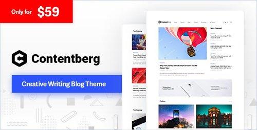 ThemeForest - Contentberg v1.6.0 - Content Marketing & Personal Blog - 22634637